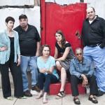 The Welders at the Red Door